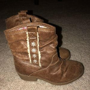 Toddler Girls' Western Ankle Boots size 9